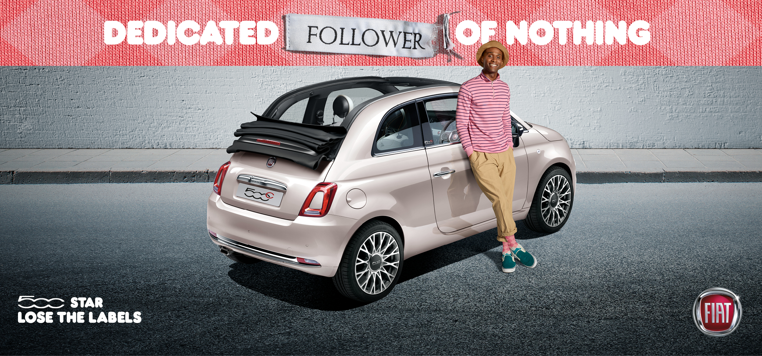 Fiat 500 Celebrates Individuality In Lose The Labels Outdoor