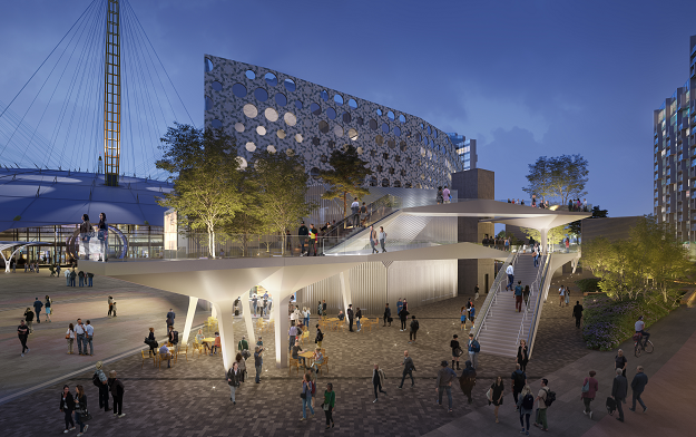 """Droga5 London creates """"The Tide"""" identity and launch campaign for Greenwich Peninsula"""