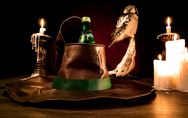 Perrier creates the Cool Hat: a collector's item to quench thirst for the extraordinary when on the hunt for magical creatures