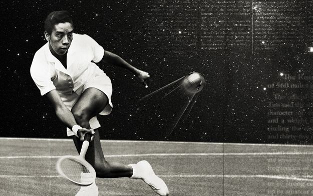 Wimbledon rolls out posters merging tennis greats with history's era-defining moments