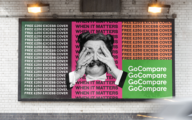 Gio Compario put through the wringer by Droga5 in new advertising campaign for GoCompare