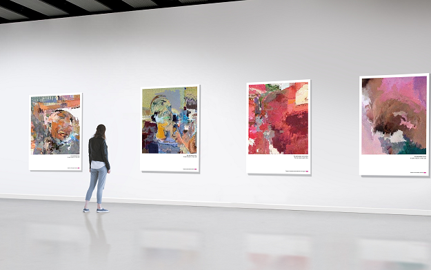VOO Telecom launches modern art that turn out to be real screenshots of crappy video calls