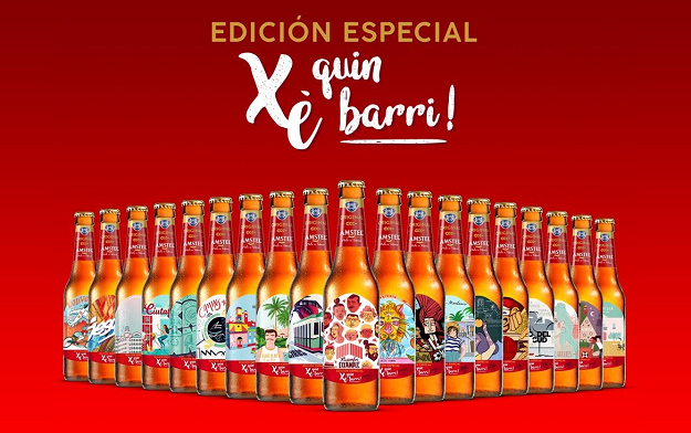 "Serviceplan Spain and Amstel Collaborate with Artists And Illustrators To Create ""Xe Quin Barri"""