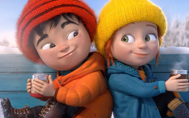 "Ad of the Day | Supermarket IGA and Sid Lee team up to launch animated spot featuring ""Anto and Maxime"""