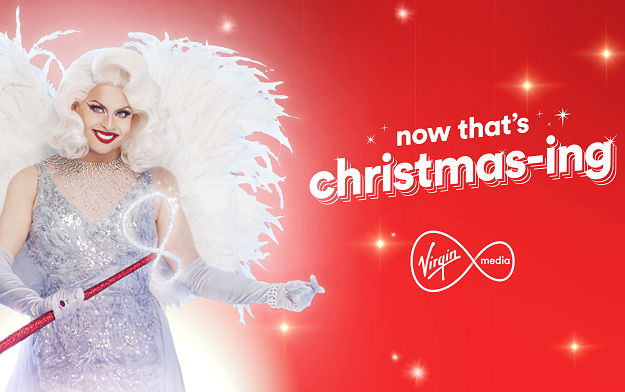 "RAPP UK and Virgin Media create ""Now That's Christmas-ing"" campaign, 25 days of giveaways from across the Virgin family"