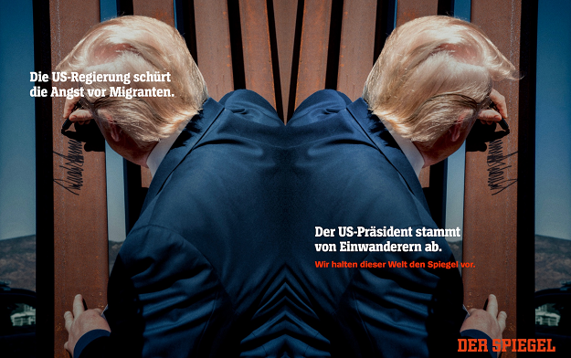 Germany's Respected News Title Spiegel Launches Cross-media Brand Campaign with Serviceplan