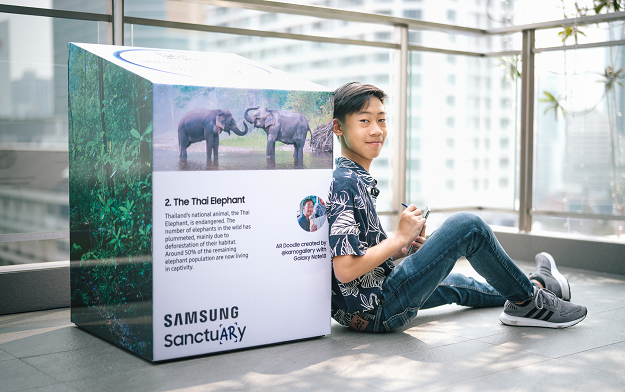 Samsung collaborates with Thai creators to launch AR wildlife sanctuary