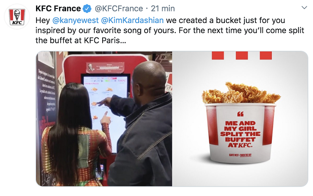 Sid Lee Paris and KFC France Pay Tribute to Kimye