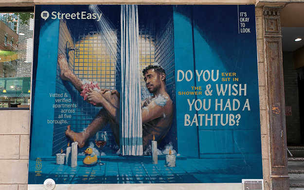 "Ad of the Day | StreetEasy Reassures New Yorkers ""It's Okay to Look"""