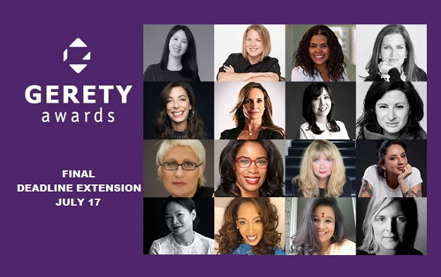 Gerety Awards Commits to Setting the Highest Benchmark for Creativity and Extends its Deadline a Final Time Until Mid July