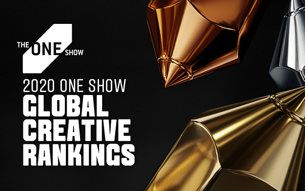 DAVID Miami Takes Top Agency Spot  in The One Show 2020 Global Creative Rankings