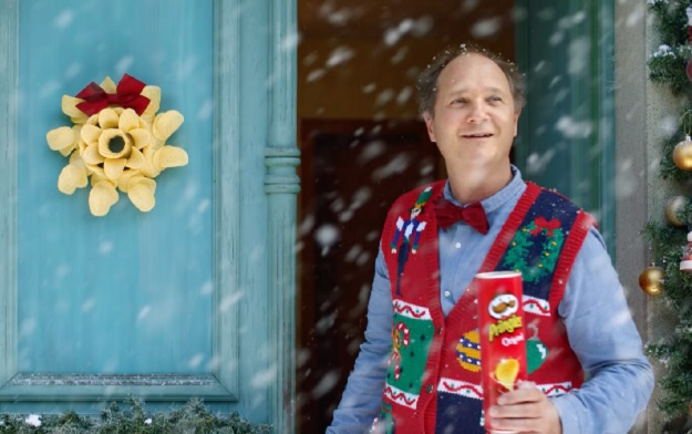 "Pringles Declares ""Let's Celebrate"" in New Christmas Campaign by Grey London"