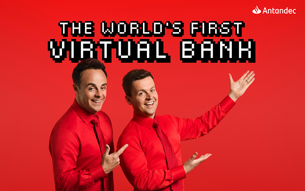 Ant and Dec Launch a Virtual Reality Bank for Santander in ENGINE Creative's New Campaign