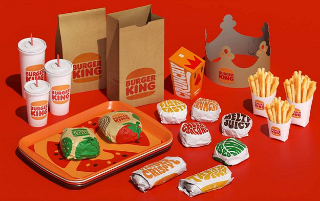 Burger King's First Rebrand in over 20 Years