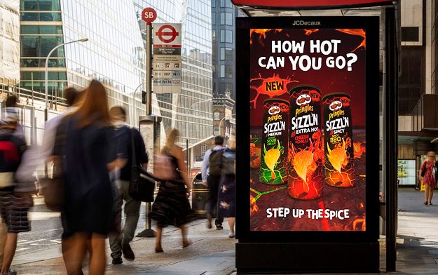 """Pringles Launches New Sizzl'n Range With """"Step Up The Spice"""" Multi Channel Campaign"""