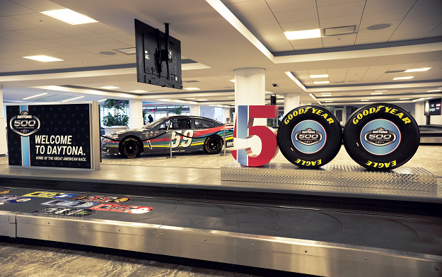 Ad of the Day | NASCAR and St. John Overhaul Airport to Welcome and Delight Daytona 500 Visitors