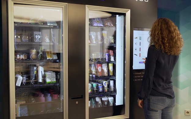 """Data Pro Quo"" The First Vending Machine Where You Pay With Data"