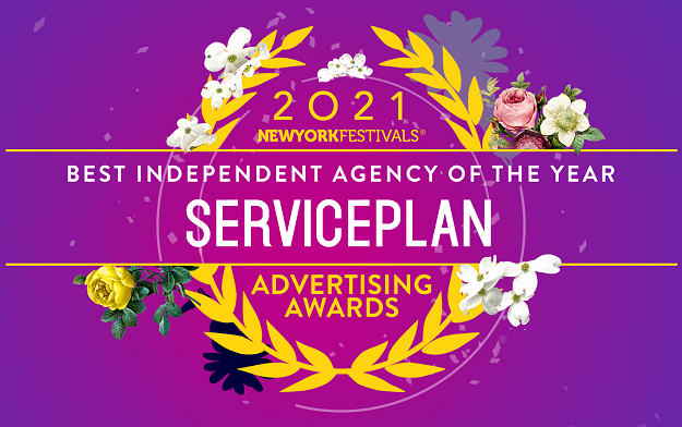 Serviceplan Recognized as Independent Agency of the Year by New York Festivals