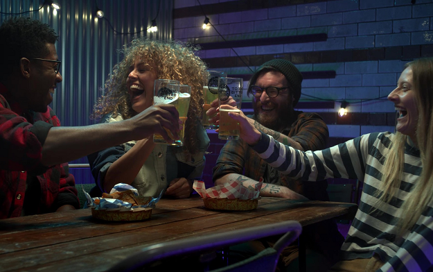 """Brewdog And Droga5 London Launch """"The Planet's Favourite Beer"""""""