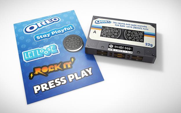 Digitas UK Leads on The Latest OREO Activation That Taps Into Millennial Mixtape Nostalgia