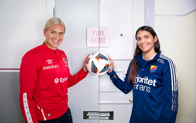 Unique Initiative Lets Supporters Move Into The Homes of Soccer Stars