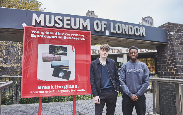 Major Arts Institutions and Celebrities Come Together to Join Arts Emergency's Call to #BreakTheGlass