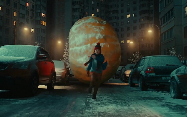 Giant Food Falls from Above in IKEA's Warning to Wasteful Christmas Consumers